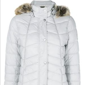 Barbour Fur Hood Puffer Jacket